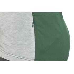 ION Letters Scrub AMP - Maillot manches courtes Femme - gris/vert